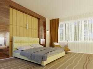 Кровать Манчестер - бежевый