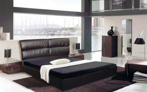 Кровать Манчестер (с подъемным механизмом) - интерьер