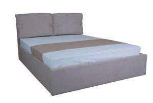Двуспальная мягкая кровать Мишель с подъемным механизмом - фото 1