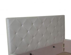 Мягкая кровать Моника с подъемным механизмом - фото 5 - изголовье