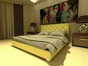 Кровать Морфей - бежевый