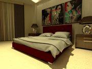 Кровать Морфей - бордо