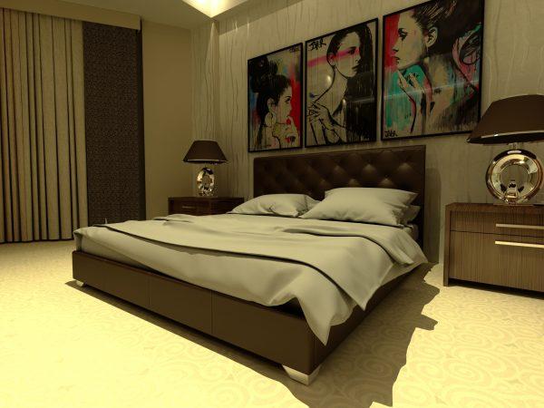 Кровать Морфей - коричневый