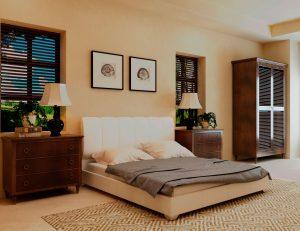 Кровать Олимп - белый