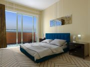 Кровать Спарта - синий
