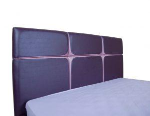 Мягкая кровать Стелла с подъемным механизмом - фото 3 - изголовье