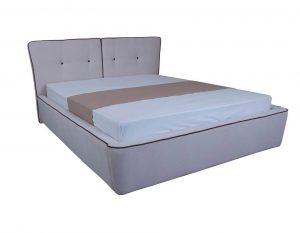 Мягкая кровать Стефани с подъемным механизмом - фото 1