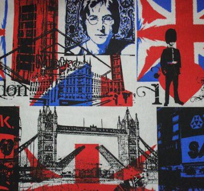 Ткань Лонета England - поликоттон