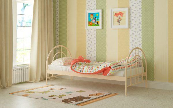 Кровать Алиса Люкс - бежевый