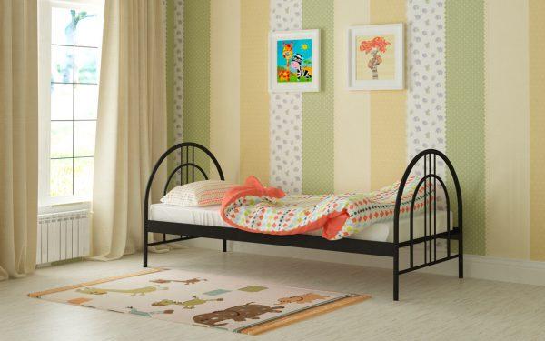 Кровать Алиса Люкс - черный