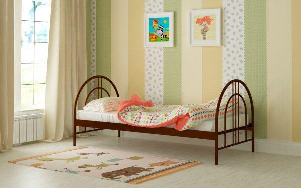 Кровать Алиса Люкс - коричневый