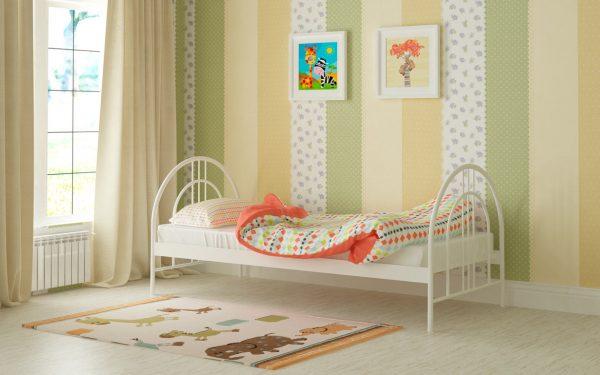Кровать Алиса Люкс - белый