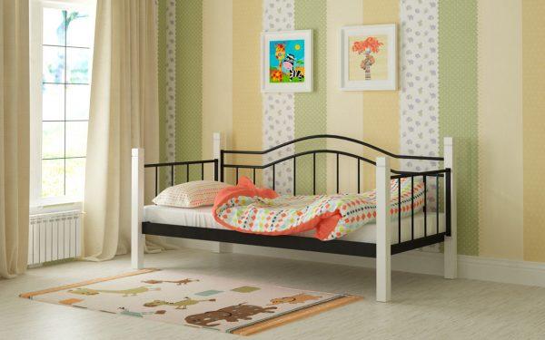 Кровать Алонзо - черный