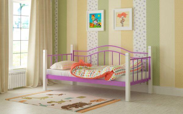 Кровать Алонзо - фиолетовый
