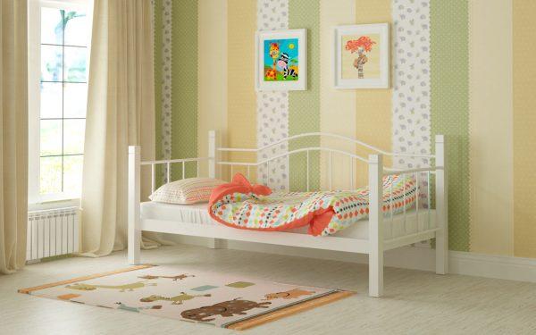 Кровать Алонзо - белый