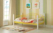 Кровать Алонзо - желтый