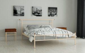 Кровать Диаз - бежевый