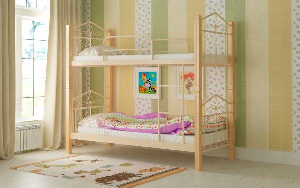 Кровать Тиара - бежевый