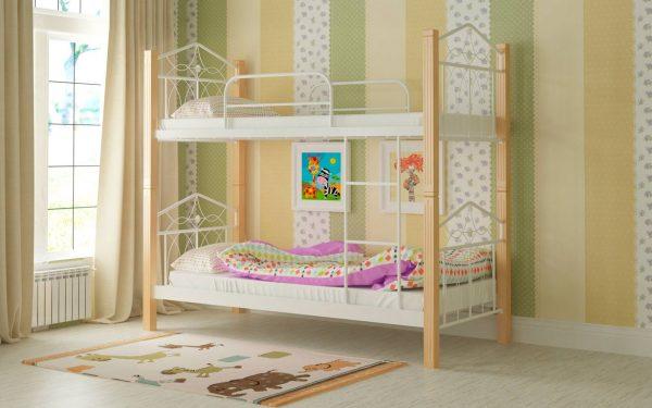 Кровать Тиара - белый