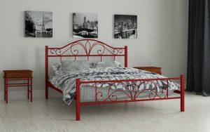 Кровать Элиз - красный