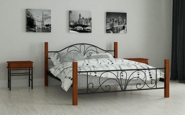 Кровать Изабелла - черный