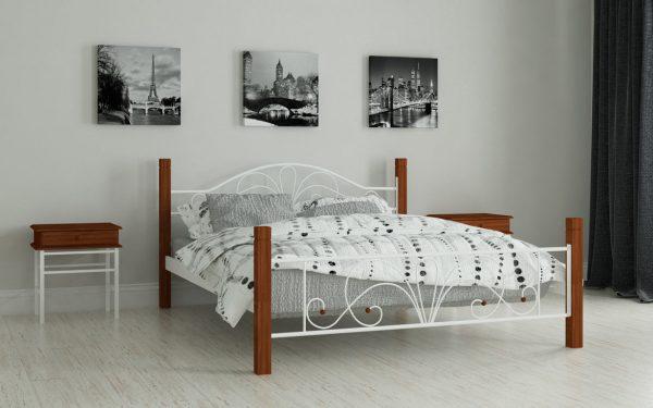 Кровать Изабелла - белый