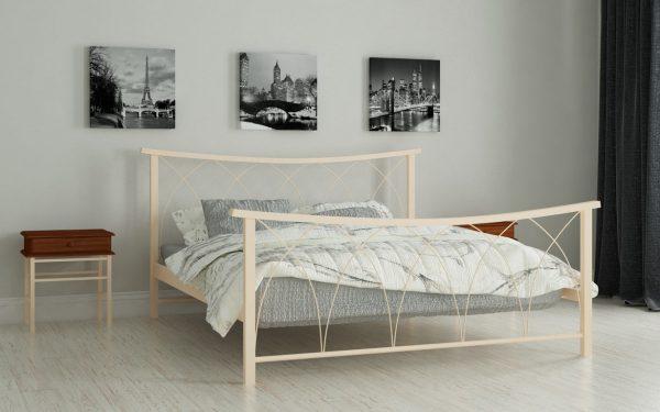 Кровать Кира - бежевый