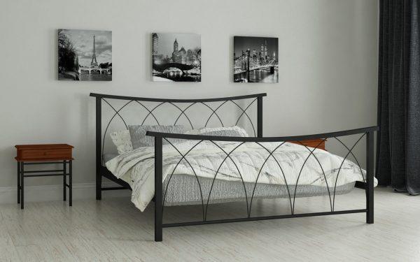 Кровать Кира - черный