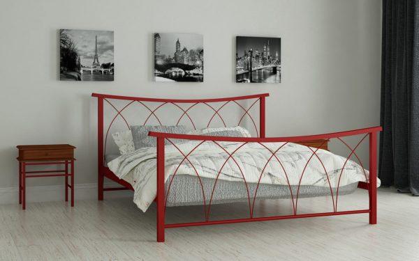 Кровать Кира - красный