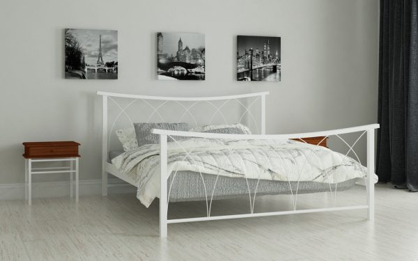 Кровать Кира - белый