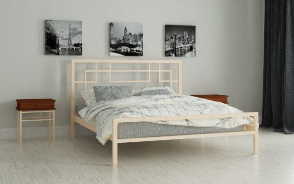 Кровать Лейла - бежевый