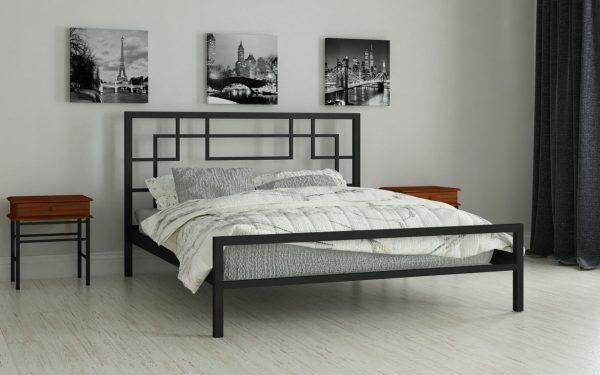 Кровать Лейла - черный