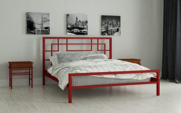 Кровать Лейла - красный