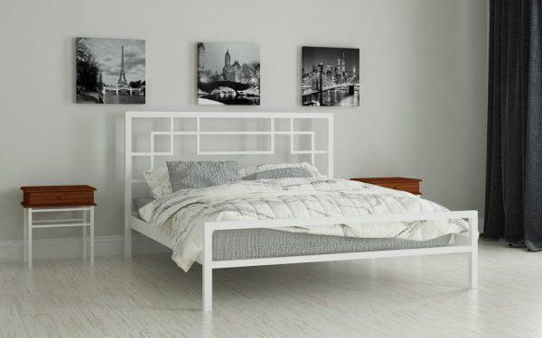 Кровать Лейла - белый