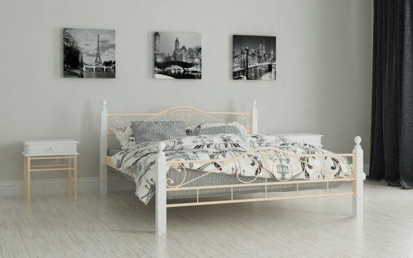 Кровать Мадера - бежевый
