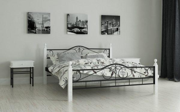 Кровать Мадера - черный