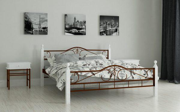 Кровать Мадера - коричневый