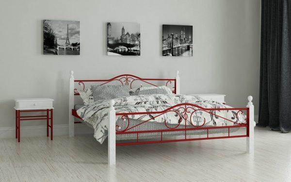Кровать Мадера - красный