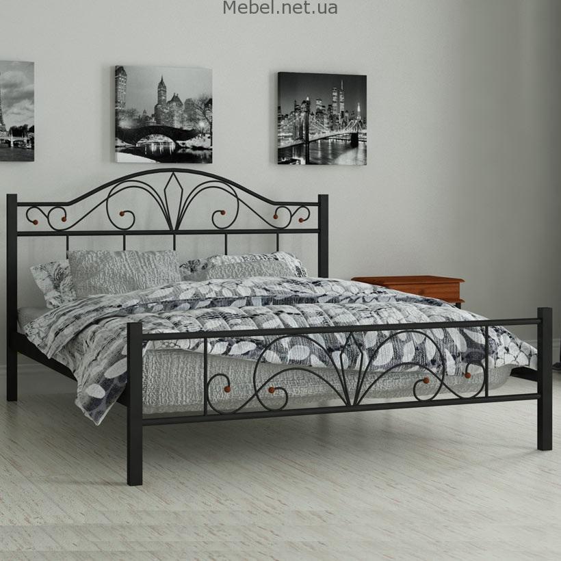 Кровати из металла