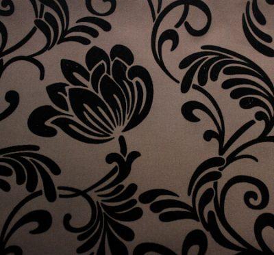 Ткань Нэо Флок Brown - жаккард