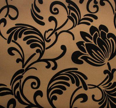 Ткань Нэо Флок Gold Brown - жаккард
