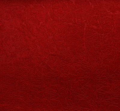 Ткань Пленет 24 Red - велюр шлифованный