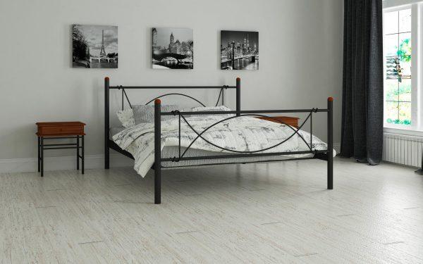 Кровать Роуз - черный