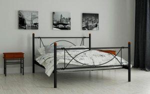 Кровать Роуз - черный (2)