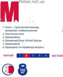 Матрас Sleep&Fly UNO M-logo