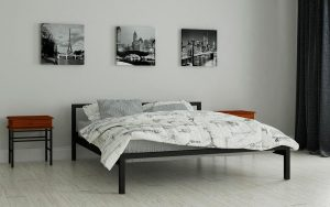 Кровать Вента - черный (2)