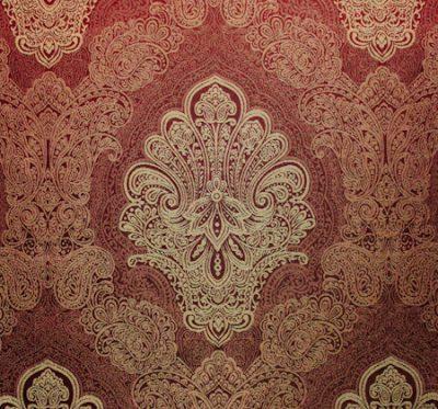 Ткань Версаль 03 Carmine - жаккард